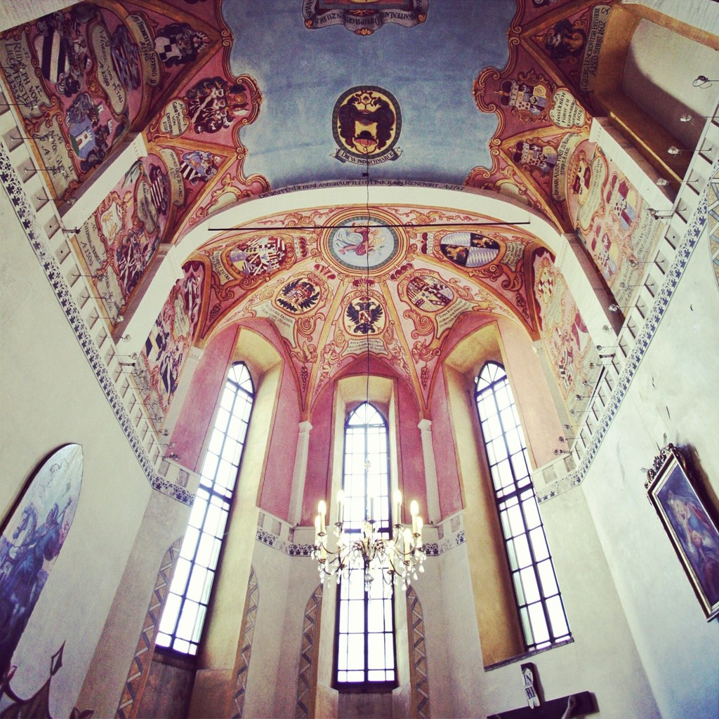 Часовня в башне люблянского града