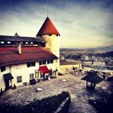 В замке на озере Блед
