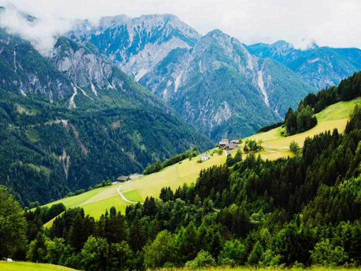 Лиенц путешествие в Австрию