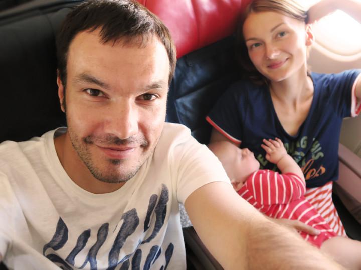 Летим в Россию