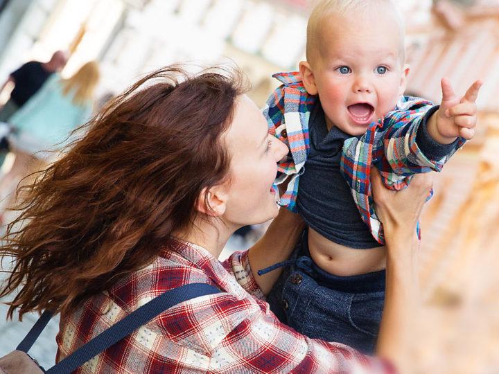 Оломоуц Чехия с ребенком