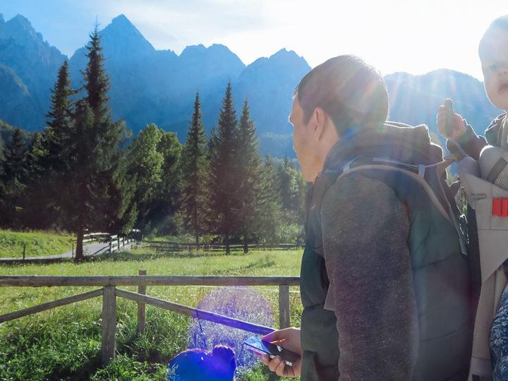 Словения В поисках водопада